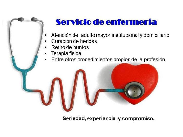 Enfermeria cuidado de adulto mayor