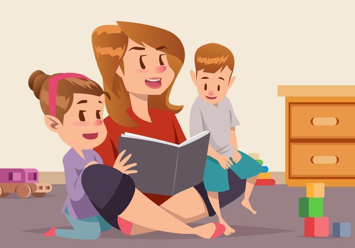 Niñera para niñas o niños de 1 año a 3 años en la