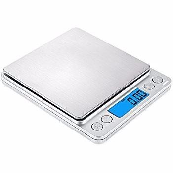 Gramera pesa balanza cuadrada 10cm 500gx0.01g digital joyeri