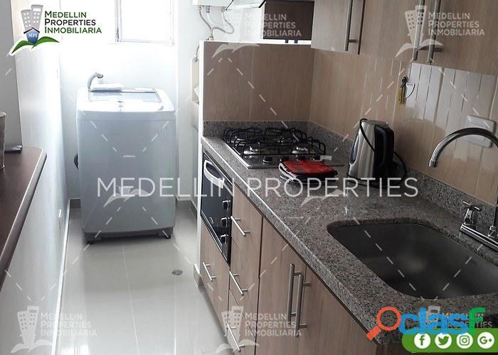 Furnished Apartment for Rental Medellín Cód: 4779