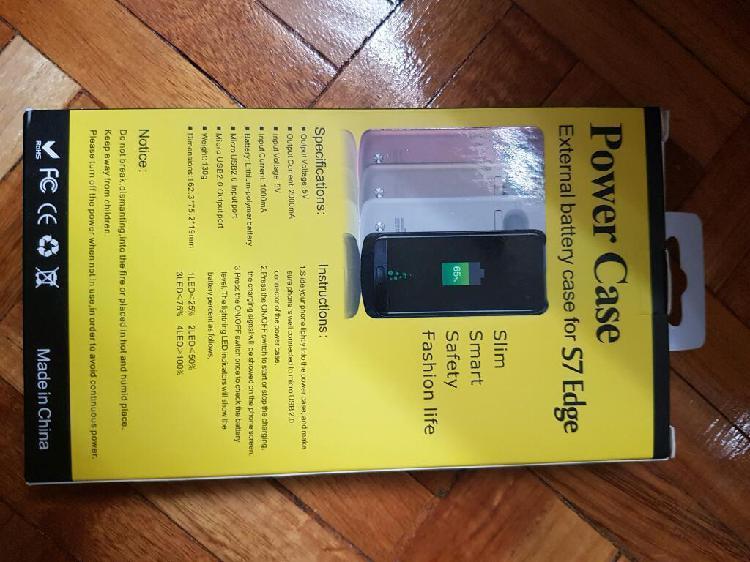 Estuche bateria recargable s7 edge