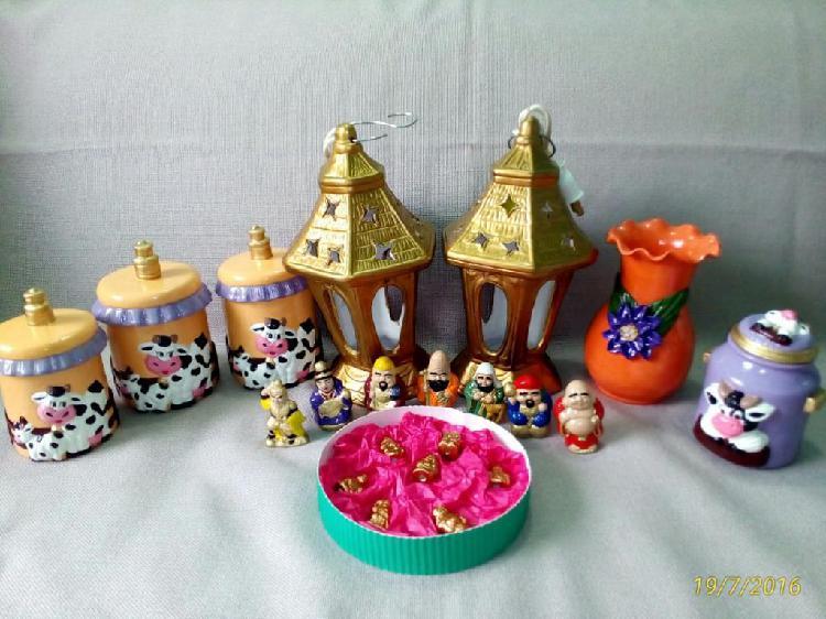 Ceramicas figuras varias lote completo o