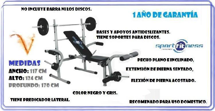 070008 banco ejercicio multiple wt308 sport fitness super