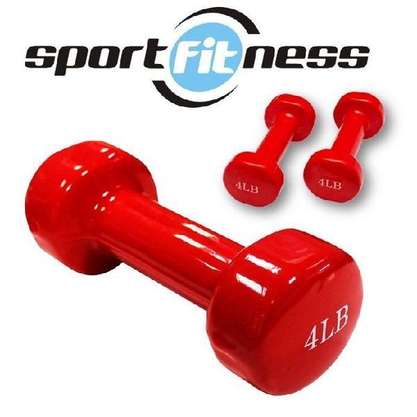 Mancuerna 4lb ha8011 encauchetada sport fitness $30.000
