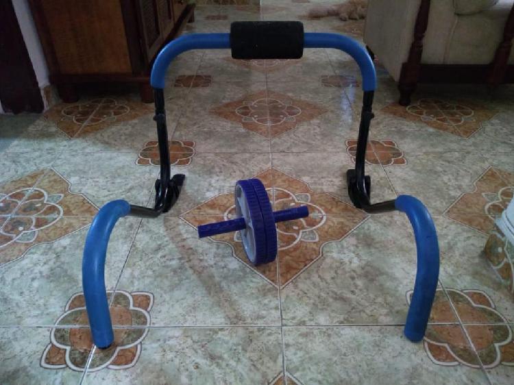 Maquina y rodillo para hacer abdominales