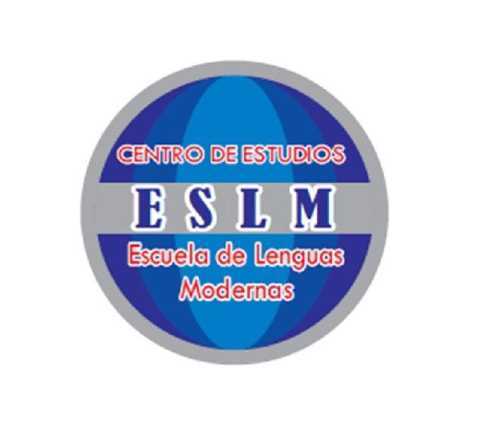 Cursos de inglés, francés, alemán y portugués