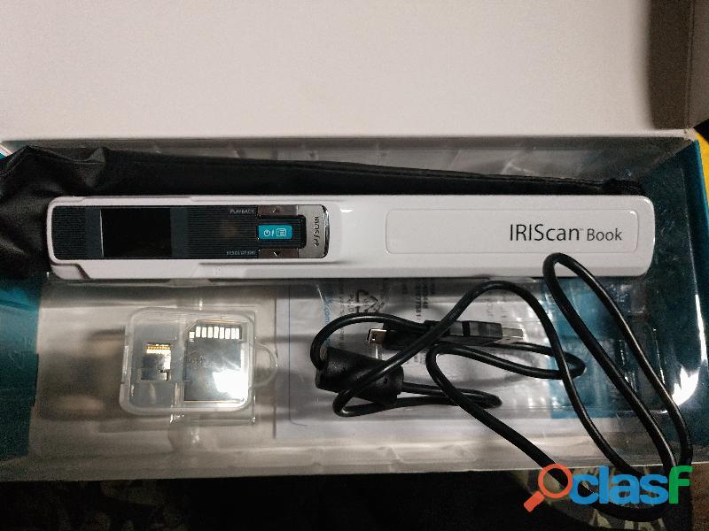 Scanner portátil con micro sd