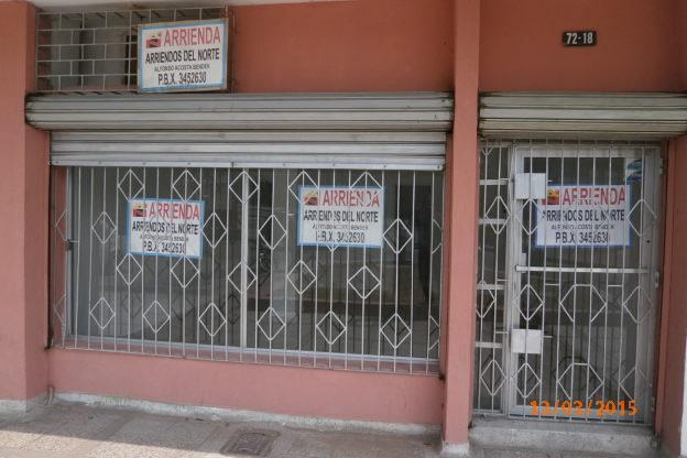 ARRIENDO LOCAL COMERCIAL CERCA EXITO SAN FRANCISCO