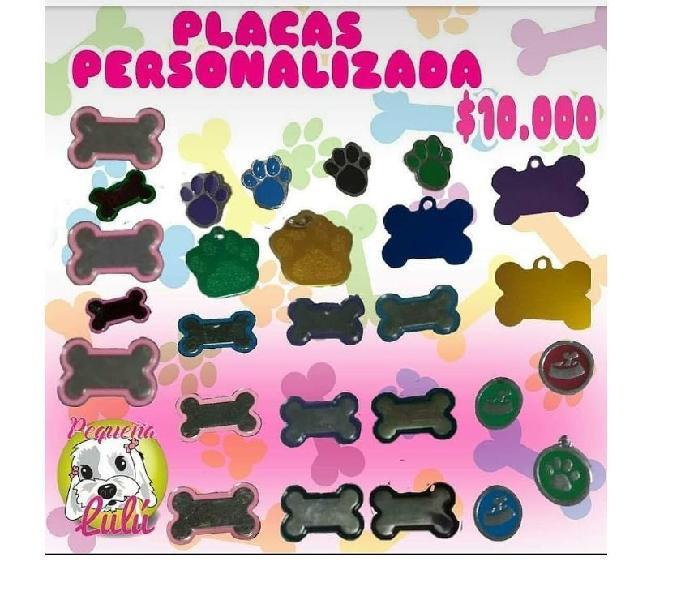 Placas personalizadas para perros