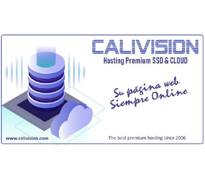 Hosting Premium Cloud SSD, 13 años de experiencia