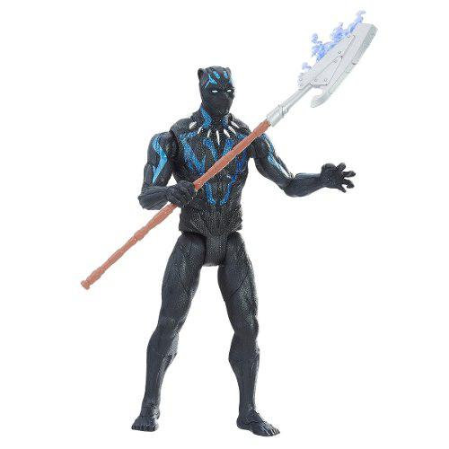 Marvel black panther titan hero series pantera negra de 6 p