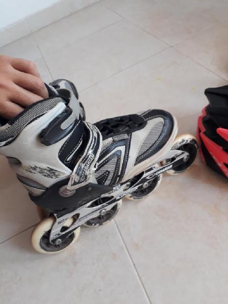 Se venden buenos patines, hombre y mujer