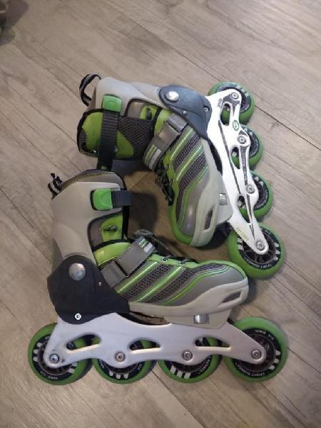 Vendo patines sport runner 90 mm abec 11 original