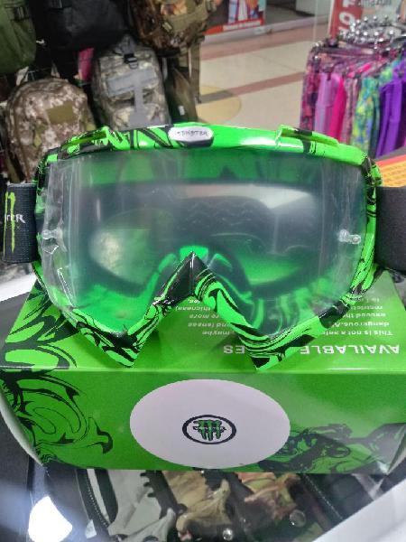 Gafas casco monster