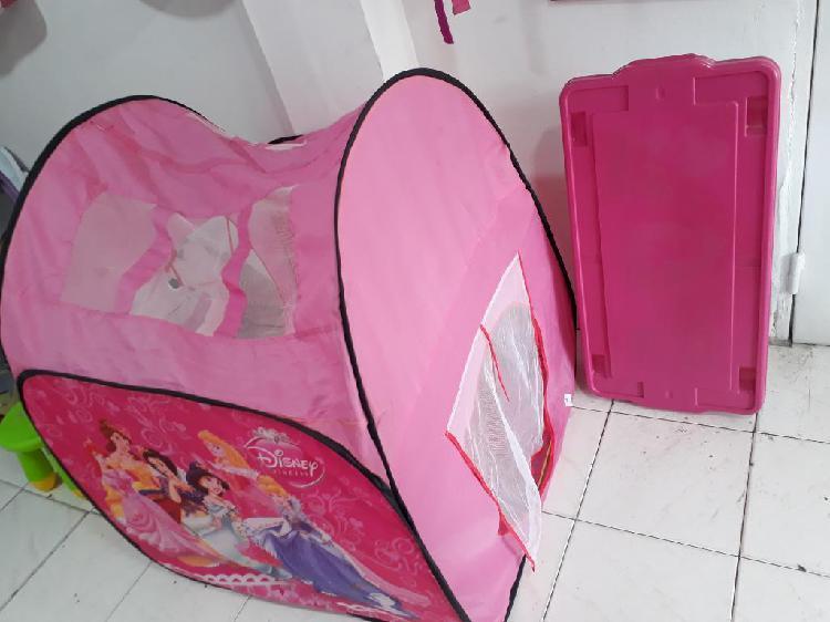 Carpa de princesas para niñas