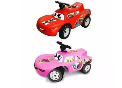 Carro montable andadera cars rayo mcqueen niños niñas