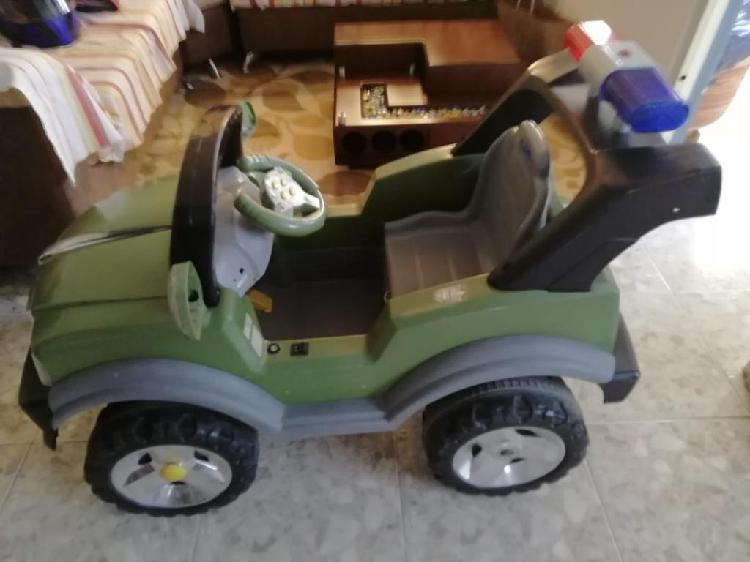 Carro recargable montable electrico niño