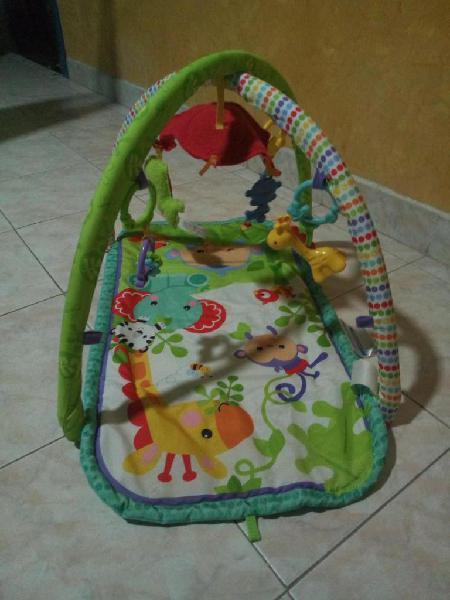 Gimnasio de bebe fisher price usado