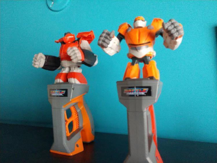 Juguete robot de pelea battle masters