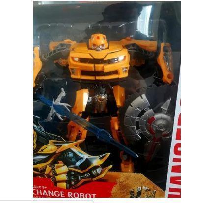 Robot juguete transformer muñeco carro b