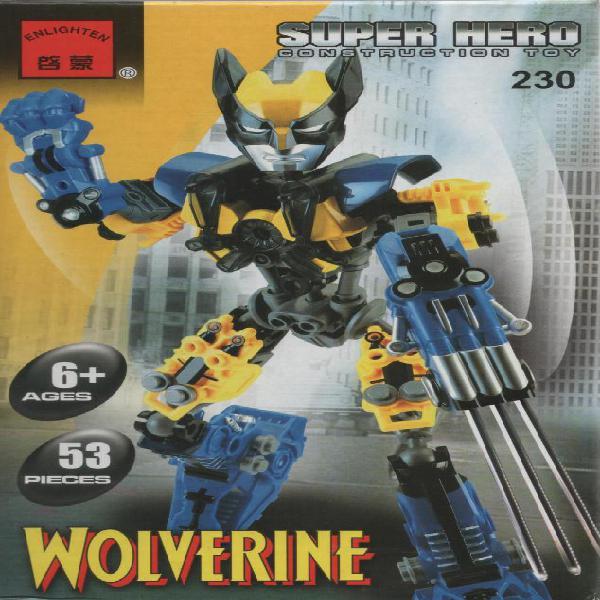 Volverine c230 juguetes para armar tipo lego