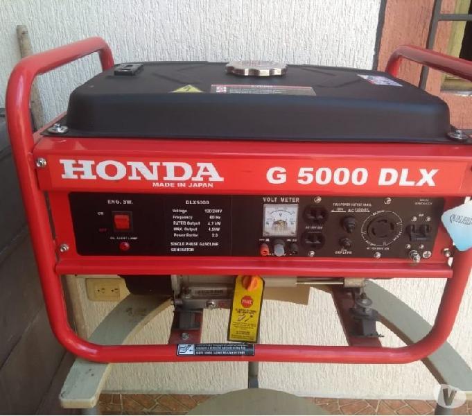 Vendo planta electrica portatil nueva