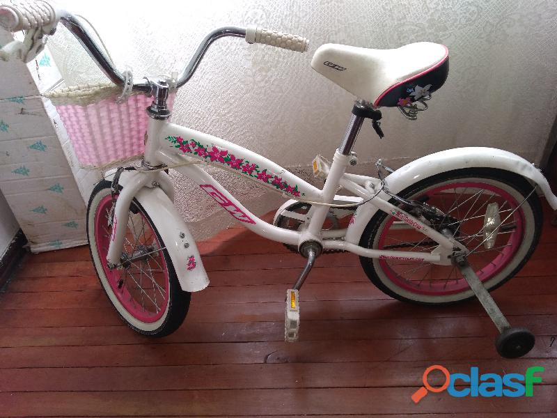 Bicicleta playera niña