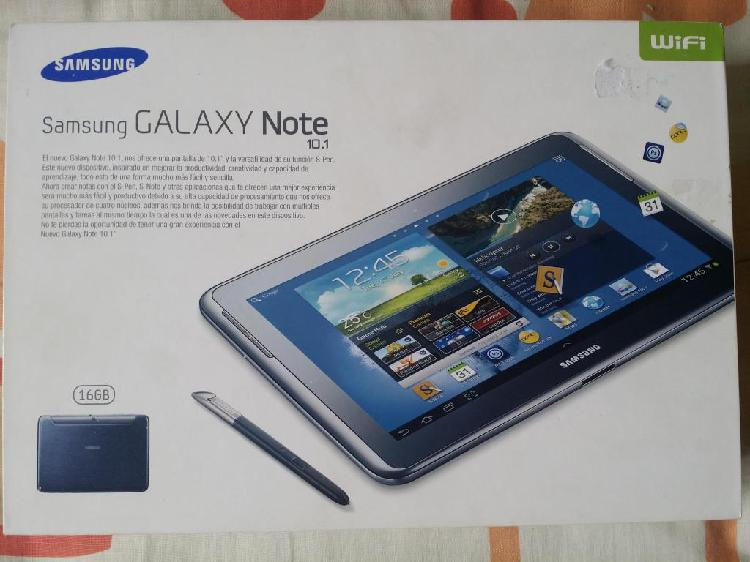 Tablet samsung galaxy note 10.1
