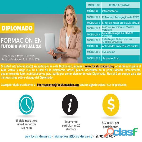 Diplomado en formación como tutor virtual