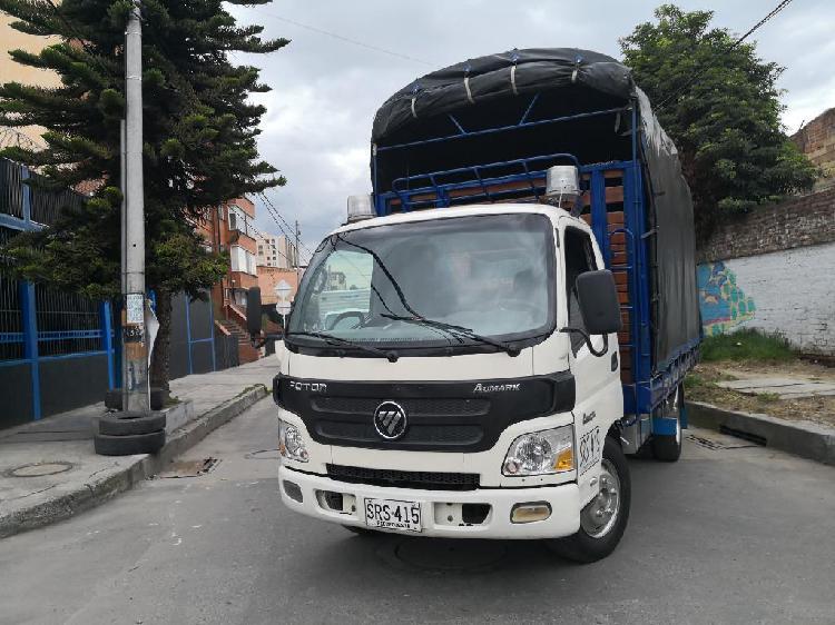 Camión foton 2016 estacas