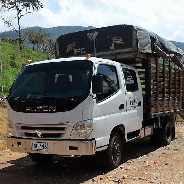 Camion foton estacas doblecabina freno aire doble llanta