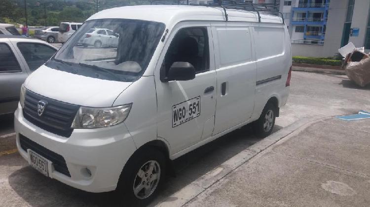 Venpermuto camioneta hafei junyi cargo 2014 lista para