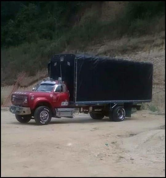 Camion dodge modelo 93