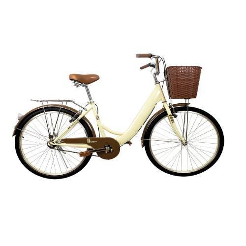 Bicicleta playera 26 pulgadas gw sunday crema ciclismo