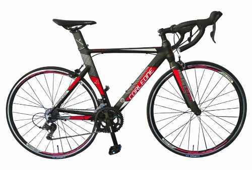 Bicicleta ruta corleone grupo claris 16v tenedor carbono