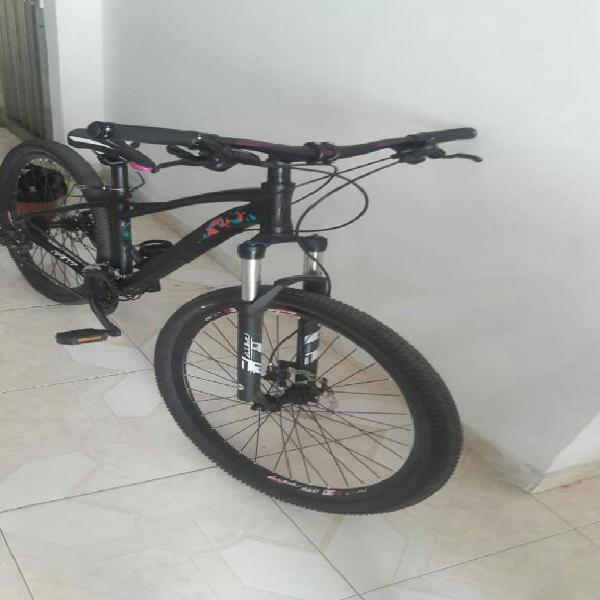 Bicicleta gw owl mujer solo un uso