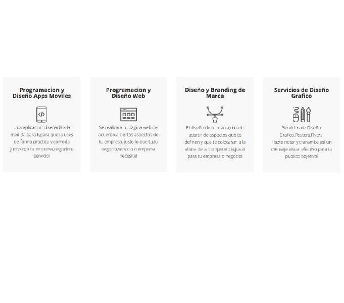 Paginas web app mobil sitios web apps android tienda online