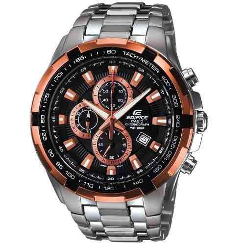 ea277f101582 Reloj casio edifice ef 539d cronografo acero hombre original