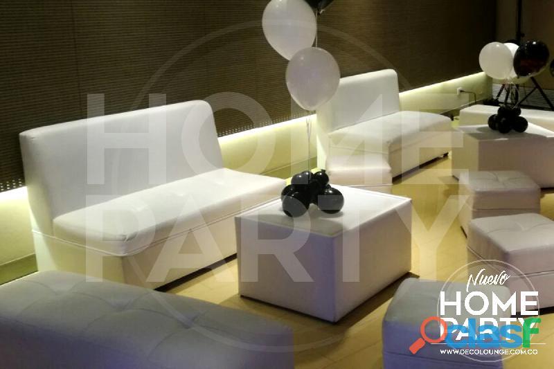 Alquiler salas lounge bogota precios