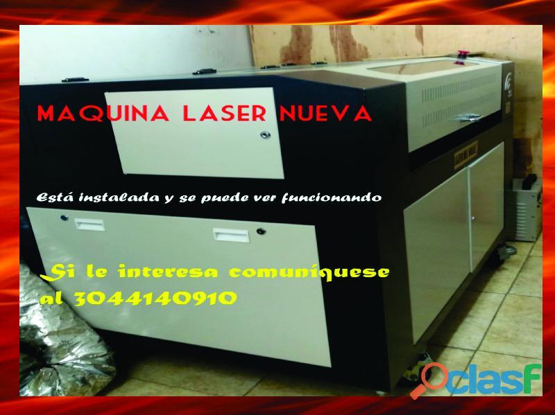 Maquina laser,de grabado lasee