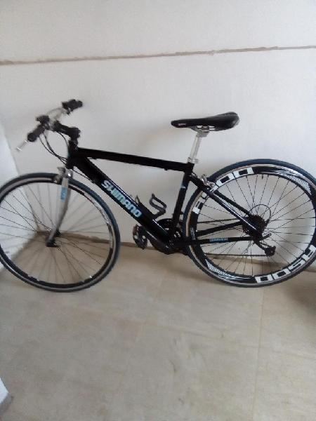 Bicicleta ruta aluminio