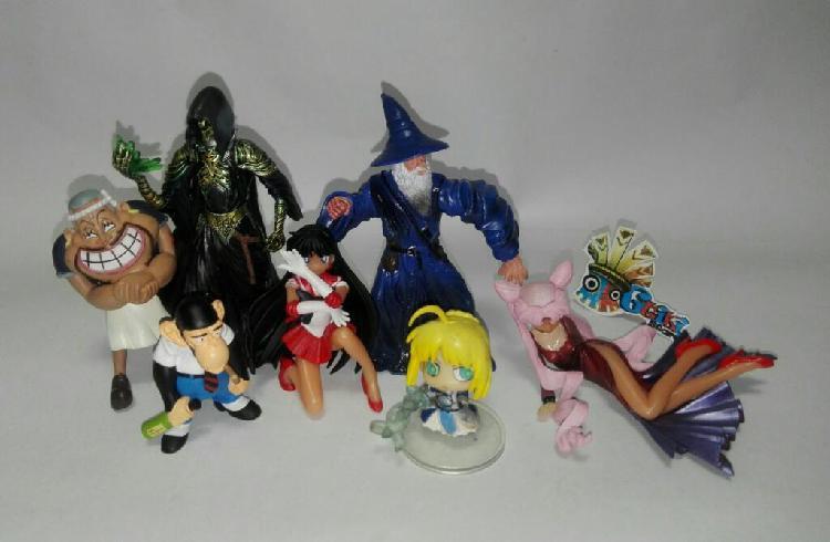 Figuras distintas marcas anime one piece