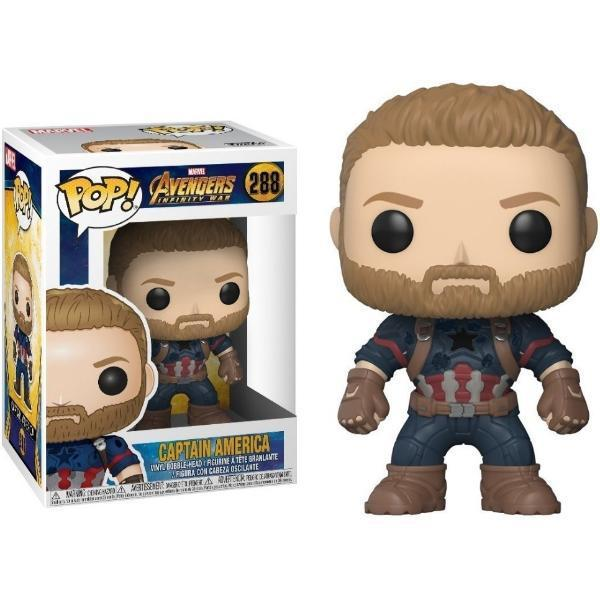 Funko pop capitan america 288 marvel avengers infinity war