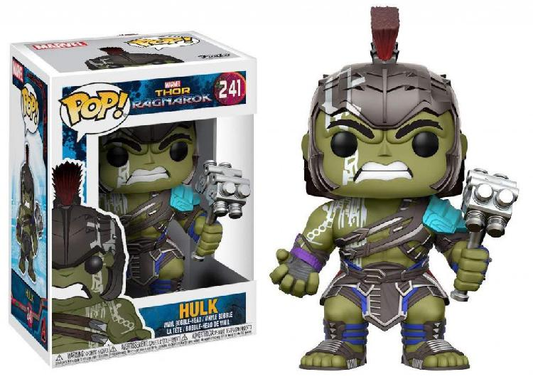 Funko pop hulk helmeted 241 marvel thor ragnarok