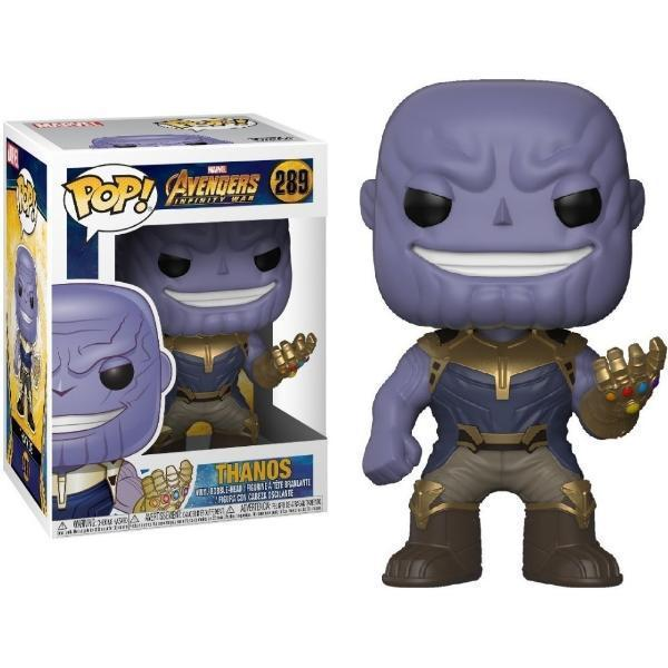 Funko pop thanos 289 marvel avengers infinity war