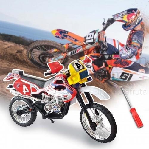 Motocicleta armable tipo motocross rf 180