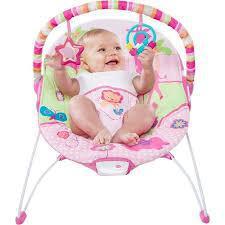 Silla vibradora para bebe niña marca americana bright