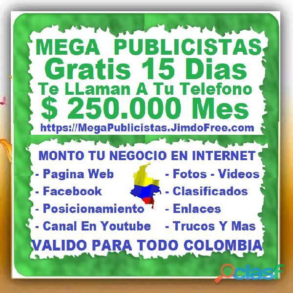⭐ gratis, mega publicistas medellin, agencia publicidad, super publicista, ultra marketing digital,