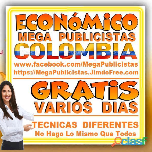 ⭐ GRATIS, Mega Publicistas MEDELLIN, Super Publicista, Ultra Agencia Publicidad, Marketing Digital, 5