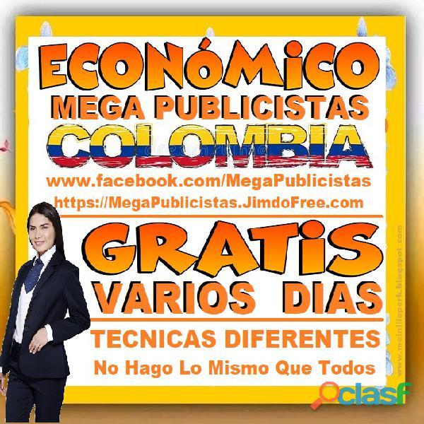 ⭐ GRATIS, Mega Publicistas MEDELLIN, Super Publicista, Ultra Agencia Publicidad, Marketing Digital, 3